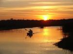 scenery, sunset, waterways, Florida, kayak