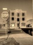 rustic, architecture, sepia, main street