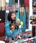 People, market, knitting, Lima Peru, Inca