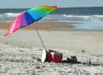 Beach, pic nic, beach umbrella, Florida