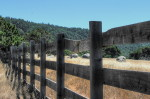rustic fence, rustic, wood fence, scenery, california