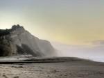 scenery, beach, Half Moon Bay, California