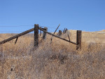 rustic, fences, barbed wire, ranch, California