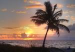 Sunrise in the Bahamahas