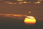 sunset, pacific ocean, Hawaii sunset